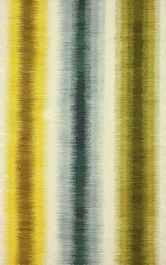 Aurora I Flatwoven Ombre Stripes Gold Rug