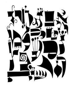 Alefs in Wonderland — Alphabet