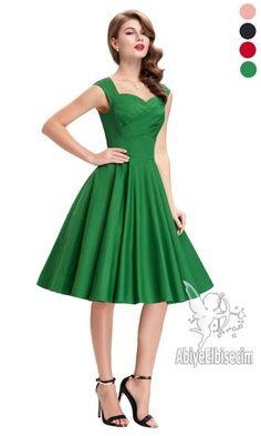 Bayan elbise vintage tasarım diz hizası ,bayan elbise,online elbise,ucuz elbise,elbise satın al