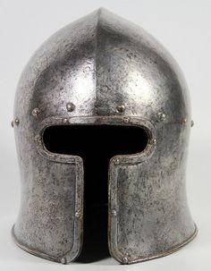 Helmet, Italian Barbute(sallet), c. 1470