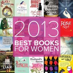 The year's best books for women #bestof2013