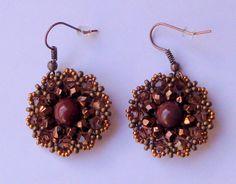 Mecaperles: Earrings blommoor of Try to be