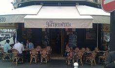 """RESTAURANT - PARIS 12e - Gare de Lyon. """"LES GARNEMENTS"""". Situé au 17, rue Michel Chasles 75012 Paris. Tél : 01 40 19 08 17  Brasserie parisienne traditionnelle avec une terrasse couverte, idéale durant l'hiver."""