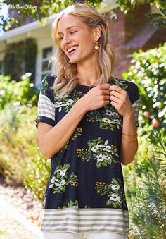 Brilliant Daydream, Spring In The Mix Tee Modest Outfits, Cute Outfits, Matilda Jane, Spring Summer Fashion, Style Inspiration, Clothes For Women, My Style, Tees, Jane Clothing