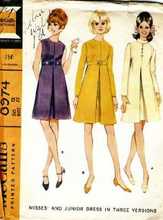 Sewing Patterns of the '60s