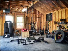 nice Home gym rogue fitness crossfit obsessed. Crossfit Garage Gym, Home Gym Garage, Crossfit Equipment, Diy Home Gym, Crossfit At Home, Basement Gym, Best Home Gym, Home Gym Equipment, Exercise Equipment
