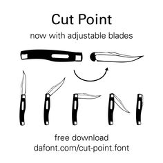 Adjustable blades now available.
