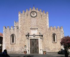 Taormina - The Fortress Cathedral