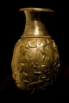 Thracian Gold Vase | Flickr - Photo Sharing!