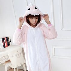 Pink Dinosaur Unisex Pajamas Costume Animal Onesies Family Fitted Sleepwear  Warm Fleece Pajamas Sets For Men Women Kid Wholesale-in Pajama Sets from  Women s ... 1bc4d8864