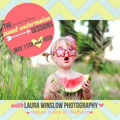 Sweet Watermelon Sessions for Summer #watermelon #photography #phoenix
