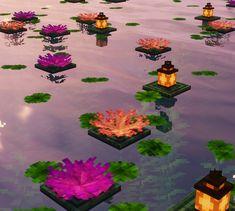 Minecraft Garden, Minecraft Cottage, Easy Minecraft Houses, Minecraft House Designs, Minecraft Decorations, Amazing Minecraft, Minecraft Blueprints, Minecraft Art, Minecraft Crafts