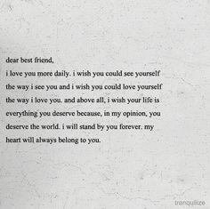 i <3 my best friends!