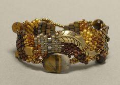 Guardian – Free Form Peyote Stitch Beaded Bracelet Project