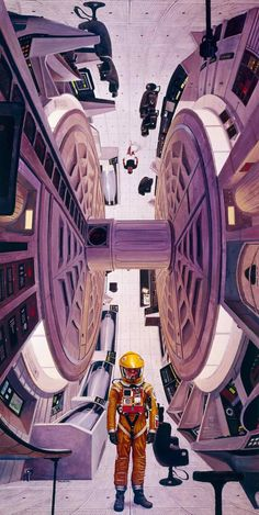 The works of Robert McCall are a rich tapestry that encompasses more than just the history of space exploration and visions of the future. McCall is a Best Sci Fi Movie, Tv Movie, Sci Fi Movies, Science Fiction Kunst, 2001 A Space Odyssey, Dark Drawings, Keys Art, Retro Futurism, Sci Fi Fantasy