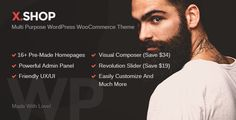 awesome X-Shop Kute WordPress WooCommerce Theme (WooCommerce)