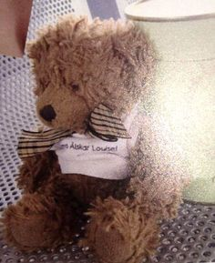 Lost in the Red Rood Hotel in San Diego in August, this teddy was found and is heading back home!