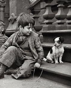 Clemens Kalischer West Side New York City c.1948