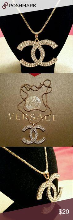 Rhinestone neckkace 28inch chain necklace,  Rhinestone necklace , #1133 Jewelry Necklaces