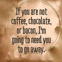 No offense, or anything. Replace coffee with books, and you've got it