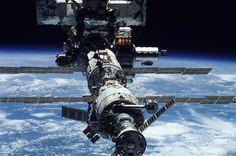 ISS closeup