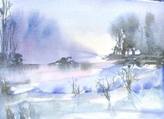 Olof Guomundsdottir   WATERCOLOR