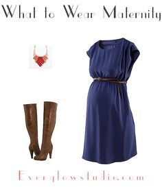 What to Wear Maternity Transitional Weather
