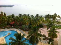 Al fondo el Lago de Maracaibo desde el Hotel Venetour Maracaibo Venezuela