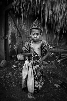 Young warrior - Timor