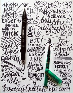 Creative Lettering, Pen, Tips, Great, and Handwriting image ideas & inspiration on Designspiration Calligraphy Letters, Typography Letters, Typography Design, Calligraphy Practice, Creative Lettering, Brush Lettering, Do It Yourself Quotes, Typographie Fonts, Sketch Note