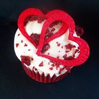 Catering Weddings and Events - Heart Cupcakes, Sugar Art, Birthday Candles, Frosting, Catering, Vanilla, Chocolate, Holiday, Party