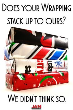 You should never have to describe your wrapping paper as 'fine'. Your Christmas wrapping should be fun and festive! Take one look at JAM Paper® Christmas Wrapping Sets, and you'll not only want them, but need them for this holiday season. Shop at JAM now!