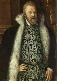 1558 Jacob Seisenegger - Portrait of Vratislav Pernstein