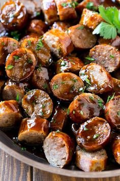octoberfest food 25 Meat Appetizers for Your Holiday Party Bratwurst Recipes, Sausage Recipes, Pork Recipes, Cooking Recipes, Recipes With Brats, Sausage Appetizers, Appetizers For Party, Appetizer Recipes, German Appetizers