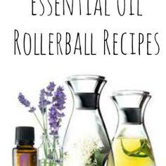 Top Twenty Essential Oil Rollerball Recipes