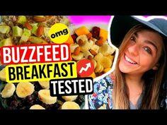 Buzzfeed Breakfast Ideas TESTED! Healthy Vegan Breakfast Ideas For School! Nichole Jacklyne - YouTube
