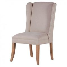 Cream Winged Dining Chair £318.00