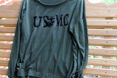 USMC SHIRT by AmyJaneBeauty on Etsy