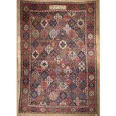 Antique Persian Bakhtiari Area Rug 39452 - Area Rug area rug