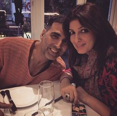 13 Reasons Twinkle Khanna And Akshay Kumar Are Bollywood's Cutest Couple Bollywood Couples, Bollywood Actors, Bollywood News, Indian Celebrities, Beautiful Celebrities, Akshay Kumar Photoshoot, Akshay Kumar And Twinkle, Koffee With Karan, Twinkle Khanna