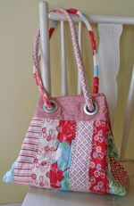 Grids & Grommets purse sewing pattern from Indygo Junction