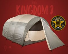 REI Kingdom Family Camping Tent