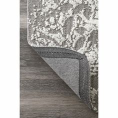 Ophelia & Co. Aldora Gray Area Rug & Reviews | Wayfair White Rug, White Area Rug, Area Rugs For Sale, Floral Area Rugs, Trendy Colors, Grey Rugs, Online Home Decor Stores, Rugs Online, Colorful Rugs