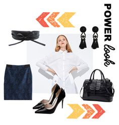 work outfit by merchandizeworld on Polyvore