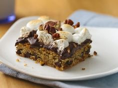 Culinary Affections: Rocky Road Blondies