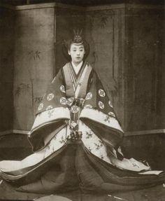 Princess Hisako Yamashinanomiya of Japan, Japanese History, Japanese Beauty, Japanese Culture, Osaka, Nagoya, Heian Era, Heian Period, Old Pictures, Old Photos