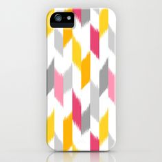 Ikat Stripes iPhone Case by Patty Sloniger - $35.00
