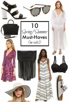 10 spring/summer Must-Haves on sale