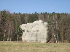 Bílé alias Sloní kameny, Lužické hory, Ještědský hřbet - Výlet Mount Rushmore, Garden Sculpture, Mountains, Outdoor Decor, Nature, Travel, Naturaleza, Viajes, Destinations