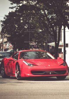 Ferrari 458.  Car of the Day: 8 June 2014.